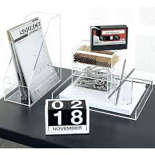 acrylic desk organizer clear us throughout remodel 8