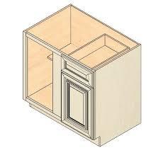 Blind Kitchen Cabinet Bbc36 Vintage White Blind Base Corner Cabinet Kitchen Cabinets