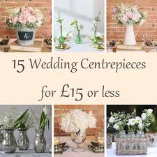 Vintage Wedding Centerpieces 15 Wedding Centrepieces For 15 Or Less