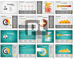 Simple One Page Resume Template Powerpoint Resume Templates Resume Template Powerpoint Template