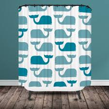 Brown And Teal Shower Curtain by Teal U0026 Gray Mod Waves Shower Curtain