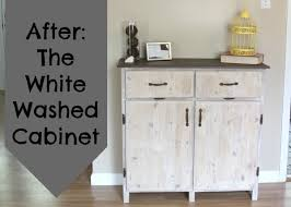 how to whitewash brown cabinets painting furniture the white washed cabinet crafting a