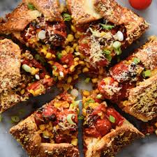 roasted tomato and corn galette u2022 feedfeed by julie resnick
