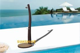 Outdoor Pool Showers - outdoor swimming pool shower outdoor furniture modern rattan
