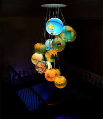 How To Make A Lamp Shade Chandelier These 21 Diy Lamps Are Easier To Make Than You Think