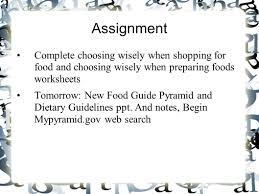 making healthful food choices ppt video online download