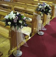 Wedding Church Decorations Lavender Wedding Church Decoration Displaying Gt Images For