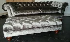 windsor 3 seater crushed ice silver velvet sofa 350 00 sofas