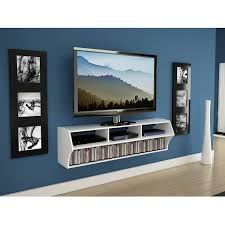 Tv On Wall Ideas by Altus Plus Floating Tv Stand For Tv U0027s Up To 60
