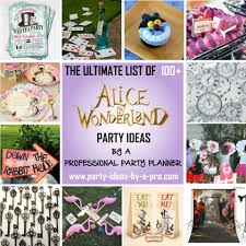 21st birthday halloween background 100 alice in wonderland party ideas u2014by a professional party planner