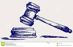 judge gavel sketch stock vector image of justice auction 26513743