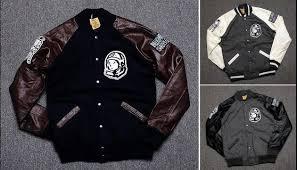 Boys Leather Bomber Jacket Mens Fashion Citi Trends Coats Baseball Leather Sleeve Winter