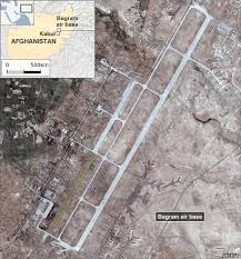 bagram air base map afghan insurgents attack bagram air base