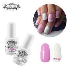 aliexpress com buy perfect summer nail gel french manicure pink