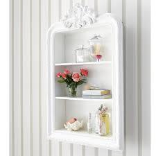 chambre romantique maison du monde étagère sculptée blanche l 79 cm maisons du monde