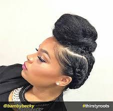 black hair buns natural black hairstyles buns new 13 natural hair updo hairstyles
