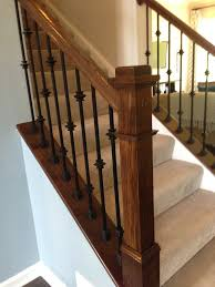 Banister Parts Knuckle Balusters Iron Balusters Stairs Stairway Banisters Iron