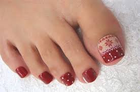 winter toe nail art designs u0026 ideas for girls 2013 2014