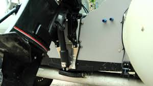 diy small outboard power trim youtube