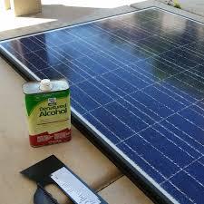 repairing broken solar panels