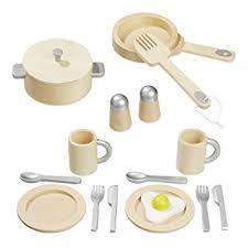 howa küche howa küchenset aus holz für spielküche 16 tlg 4868 de