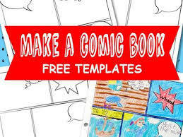 20 make your own comic strip template printable activity with