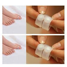 double toe rings images Buy 1 pair soft silicone magnetic foot toe rings jpg
