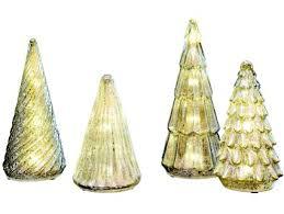 gold tree tablescape design idea