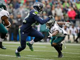 seahawks thanksgiving game wilson throws catches leads seahawks past eagles the columbian