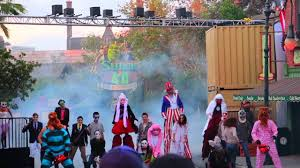 what time is halloween horror nights hhn 2016 opening ceremony youtube