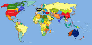 India On A Map Where Is Belgium Located On A Map