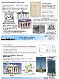 mathematical analogy a theory of architecture column