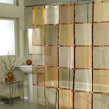 home fashions mosaic checker fabric shower curtain