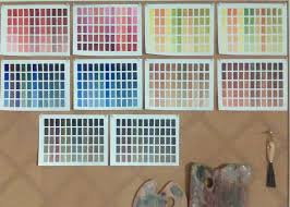 23 best painting palettes images on pinterest color theory