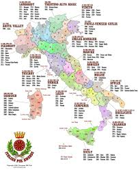 provinces of italy map itpa psk award series