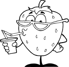 collection of solutions cartoon fruits coloring pages in summary