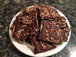 caramel chocolate matzo crunch happy passover hungry games