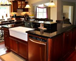 kitchen island with dishwasher and sink pretty sink dimensions kitchen luurius islands and solid surface