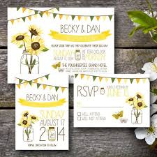 Sunflower Wedding Invitations 70 Sunflower Wedding Ideas And Wedding Invitations Sunflower