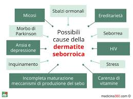 dermite du si e dermatite seborroica cause sintomi e rimedi