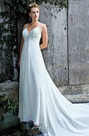 flowing wedding dresses v neck flowing wedding dress sang maestro