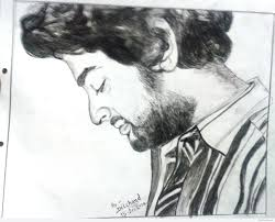 pencil sketch of arijit singh desipainters com