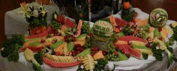 fruits arrangements fruit table