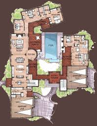 mexican house floor plans house plan w2185 v2 detail from drummondhouseplans mexican house