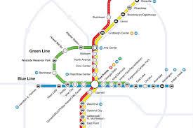 Gold Line Map Open Thread Atlanta Describe Your Ideal Marta Transit Line