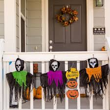 amazon com resinta halloween trick or treat hanging sign