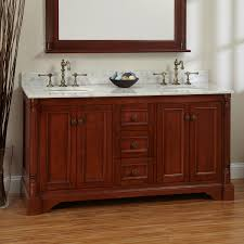 2 Sink Vanity Cherry Finish Double Sink Vanity Signature Hardware