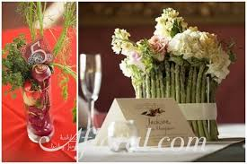fruit flower arrangements vegetable and fruit wedding flower arrangements fennel