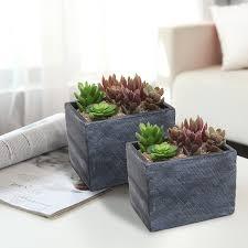 amazon com mygift 6 inch terracotta ceramic herb pots