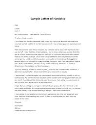 Real Estate Letter Of Intent Template by Hardship Letter Sample Thebridgesummit Co